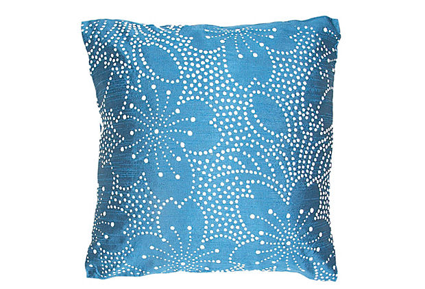 blue pillow cushion
