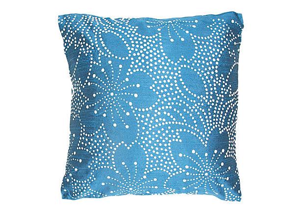 blue pillow cushion