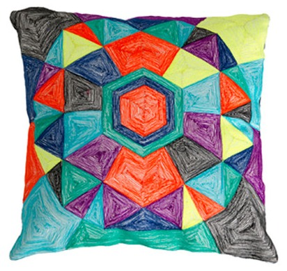 Geo pillow cushion