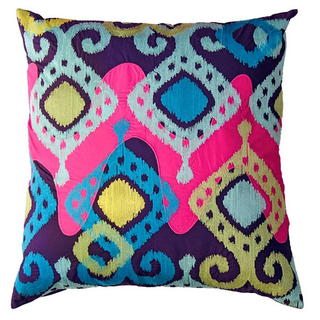 Ikat Square Cushion