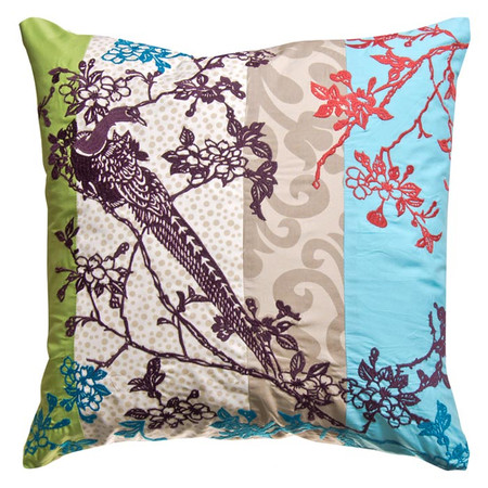 Winter and Branch cushion